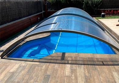 cubiertas de piscina en tarragona