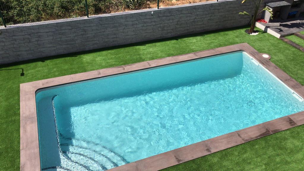 construcción de piscina particular Campo de golf Catllar 5