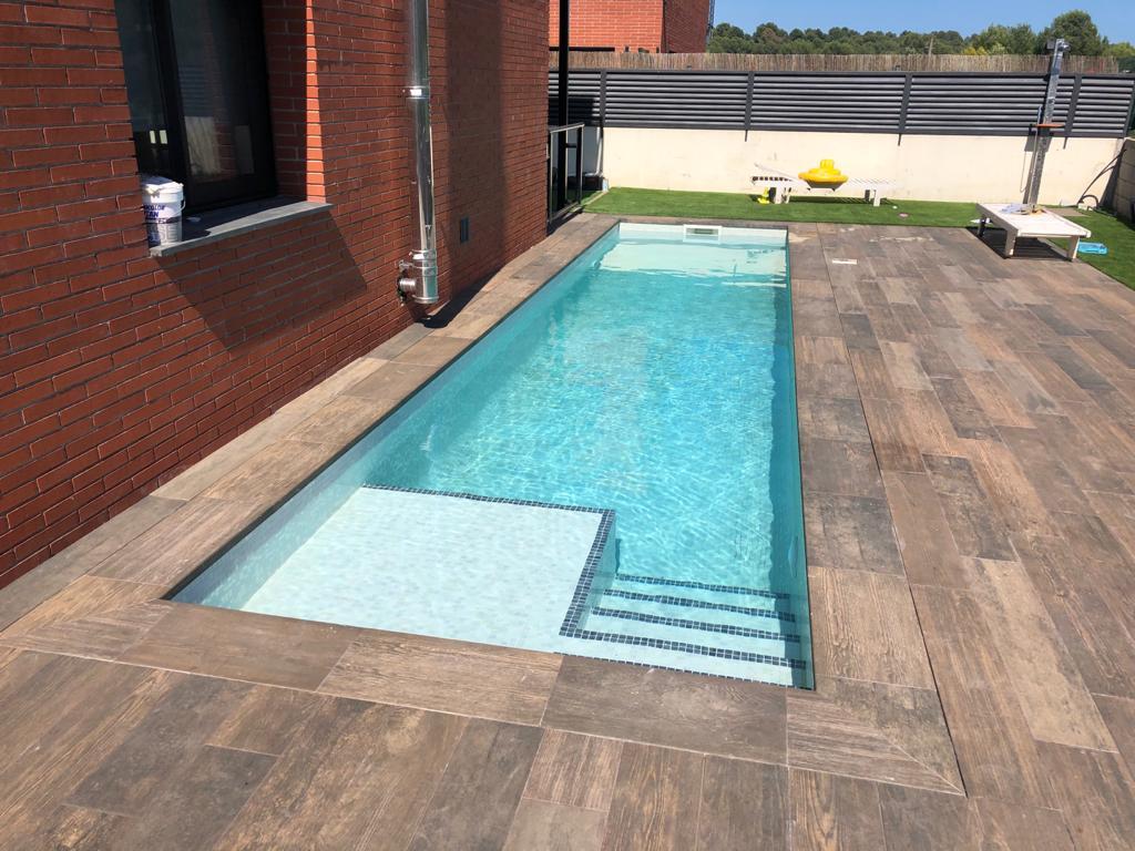 construcción de piscina. particular Campo de golf el Catllar