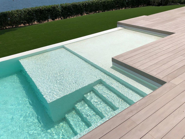 resultado final construcción de piscina en Tarragona