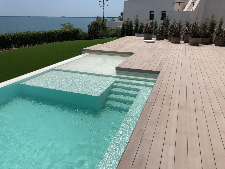 resultado final construcción de piscina en Tarragona 2