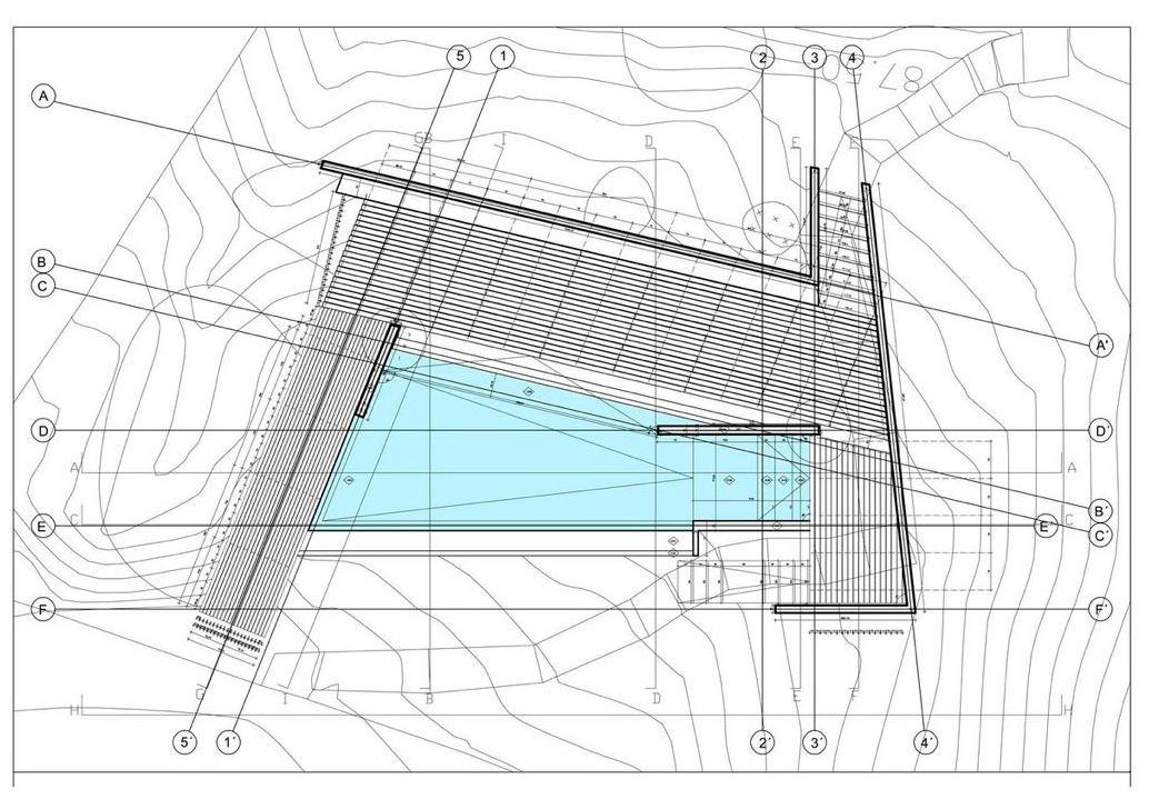 proyecto de piscina construcción de piscinas en Altafulla