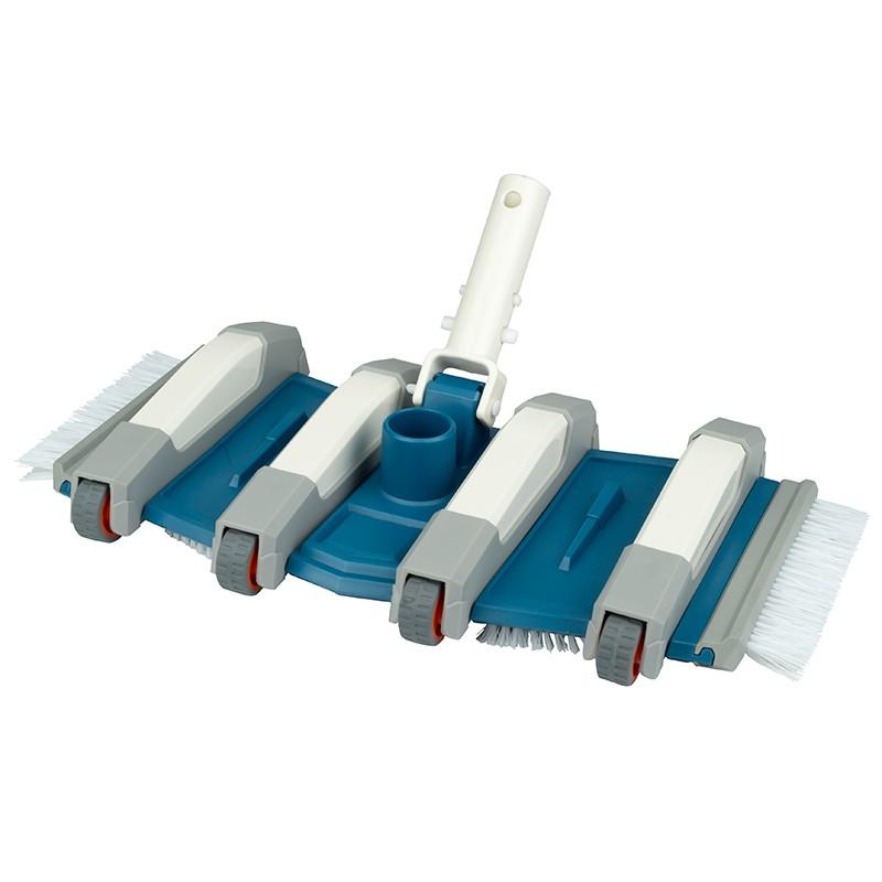 limpiafondos de piscina flexible material de limpieza