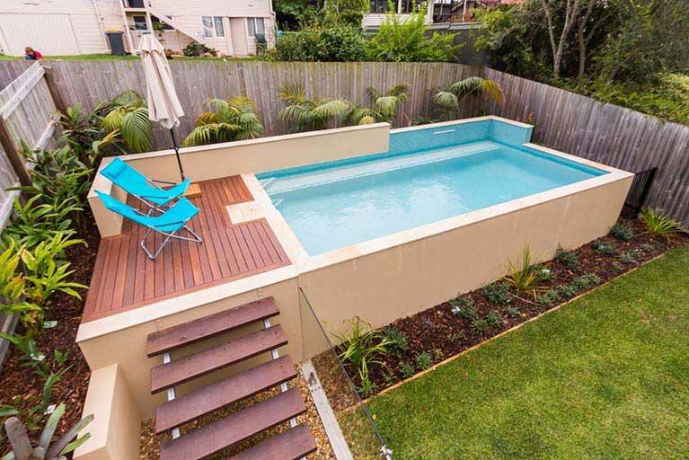 piscinas elevadas en Reus