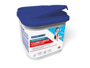 cloro lento tabletas