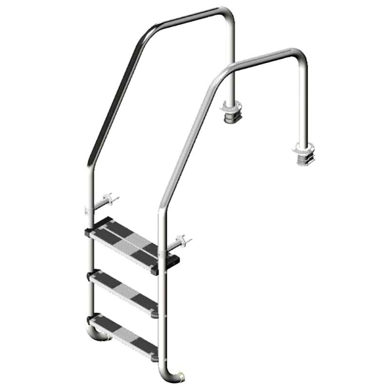 escalera para rebosadero