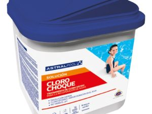 tabletas cloro choque